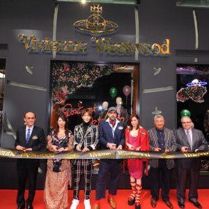 Vivienne Westwood Fashion Walk新店及餐廳 華麗開幕
