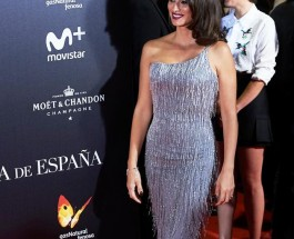 Penelope Cruz 穿著Atelier Versace晚禮服