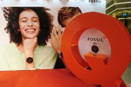 體驗新一代Fossil Q智能腕錶  @海港城