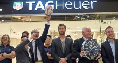 TAG Heuer 赞助香港国际七人榄球赛  兼任官方指定计时