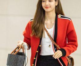 LISA (BLACKPINK) 穿著CELINE BY HEDI SLIMANE 服裝