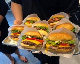 潮住食burger   @Shake Shack