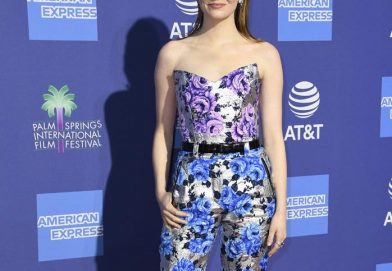 Emma Stone 穿著 Louis Vuitton 2019春夏新裝
