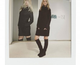 Snaps from Claudia Schiffer for TSE Collection