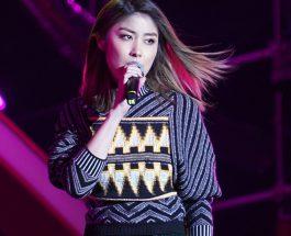 陳慧琳穿著LOUIS VUITTON 2018 初春系列