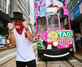 Alec Monopoly 為香港電車塗鴉    掀起街頭藝術風