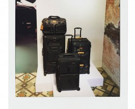 Snaps from TUMI Fall 2015 Press Day