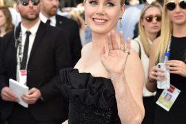 Amy Adams穿著 CELINE BY HEDI SLIMANE 晚禮服