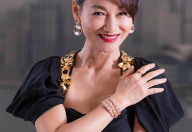 惠英紅佩戴 BVLGARI  Serpenti 系列珠寶首飾