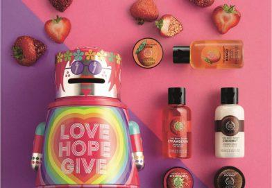 愛心聖誕禮盒  傳播快樂  @The Body Shop