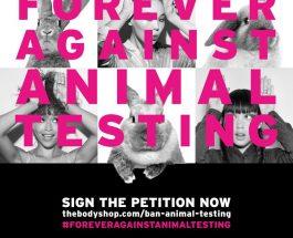 立即行動   齊聲反對動物測試!