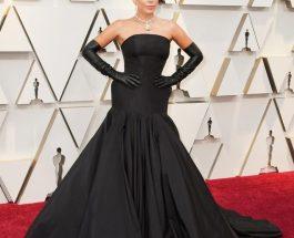 Lady Gaga 全身Alexander McQueen黑色 total look