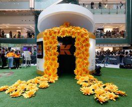 亞洲區首個巨型金盞花樂園    @Kiehl's