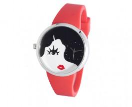 Lulu Guinness 腕錶    螢光與黑白對碰