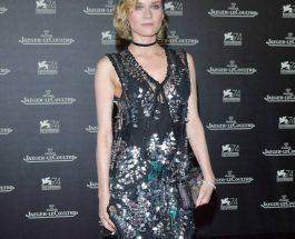 Diane Kruger 穿著Louis Vuitton Cruise 2018新裝