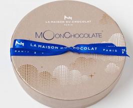 La Maison du Chocolat月亮朱古力禮盒    月滿藍色夜空