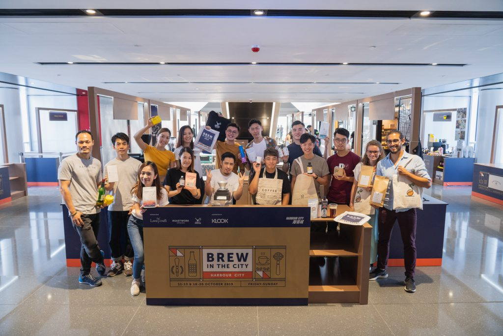Brew in the City 參與咖啡品牌